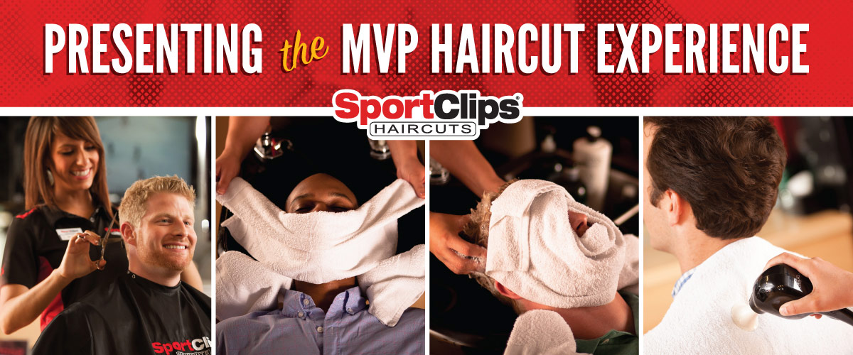 The Sport Clips Haircuts of Bouquet-Vons Center MVP Haircut Experience
